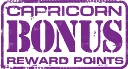Capricorn BONUS Reward Points LOGO 20122
