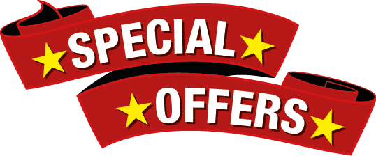 Special offers on replacement car parts